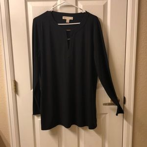 MICHAEL Michael Kors Long Sleeve Tunic Blouse XL